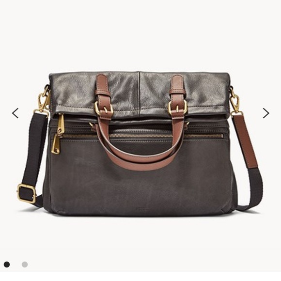 Fossil Handbags - Fossil Explorer Tote Brown Leather OS